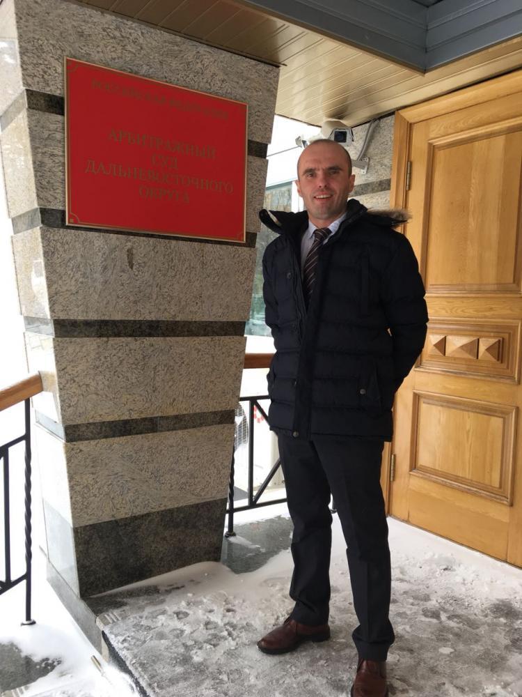 Николай Грачёв в Арбитражном суде Дальневосточного округа